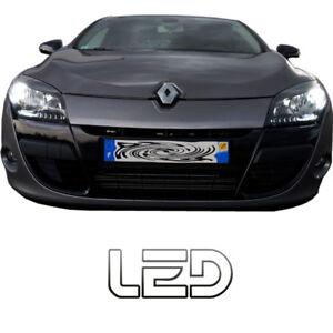 Renault-Megane-3-2-Ampoules-Veilleuses-Feux-Position-LED-Blanc-Anti-erreur-ODB