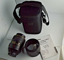 Excellent! Nikon AF-S 105mm f/2.8G VR Micro-Nikkor IF-ED Macro Lens Nano SWM