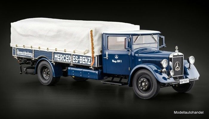 Mercedes-benz camiones renntransporter lo 2750 1934-38 1 18 cmc m-144 PVP