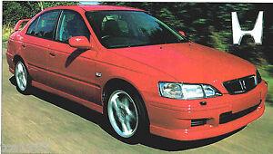 1998 1999 honda accord type r spec sheet brochure ebay