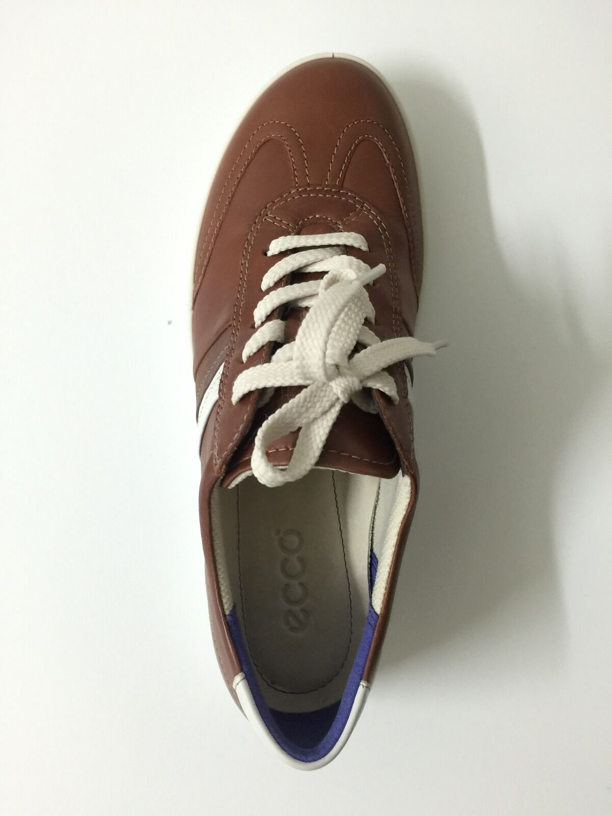 ECCO Women Aimee Casual Tie Sneakers & Athletic shoes shoes shoes in MAHOGANY,US Size 6 6.5 25baba