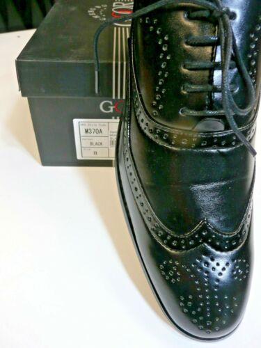 Goor Style M370A Black Brogue.