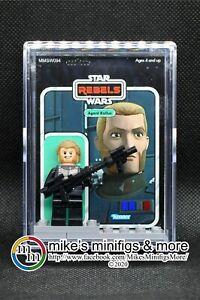 Star Wars CHOPPER Custom Carded Mini Minifigure Rebels