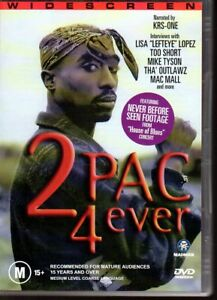 2-PAC-4-EVER-DVD-R4-2003-Documentary-LIKE-NEW-FREE-POST