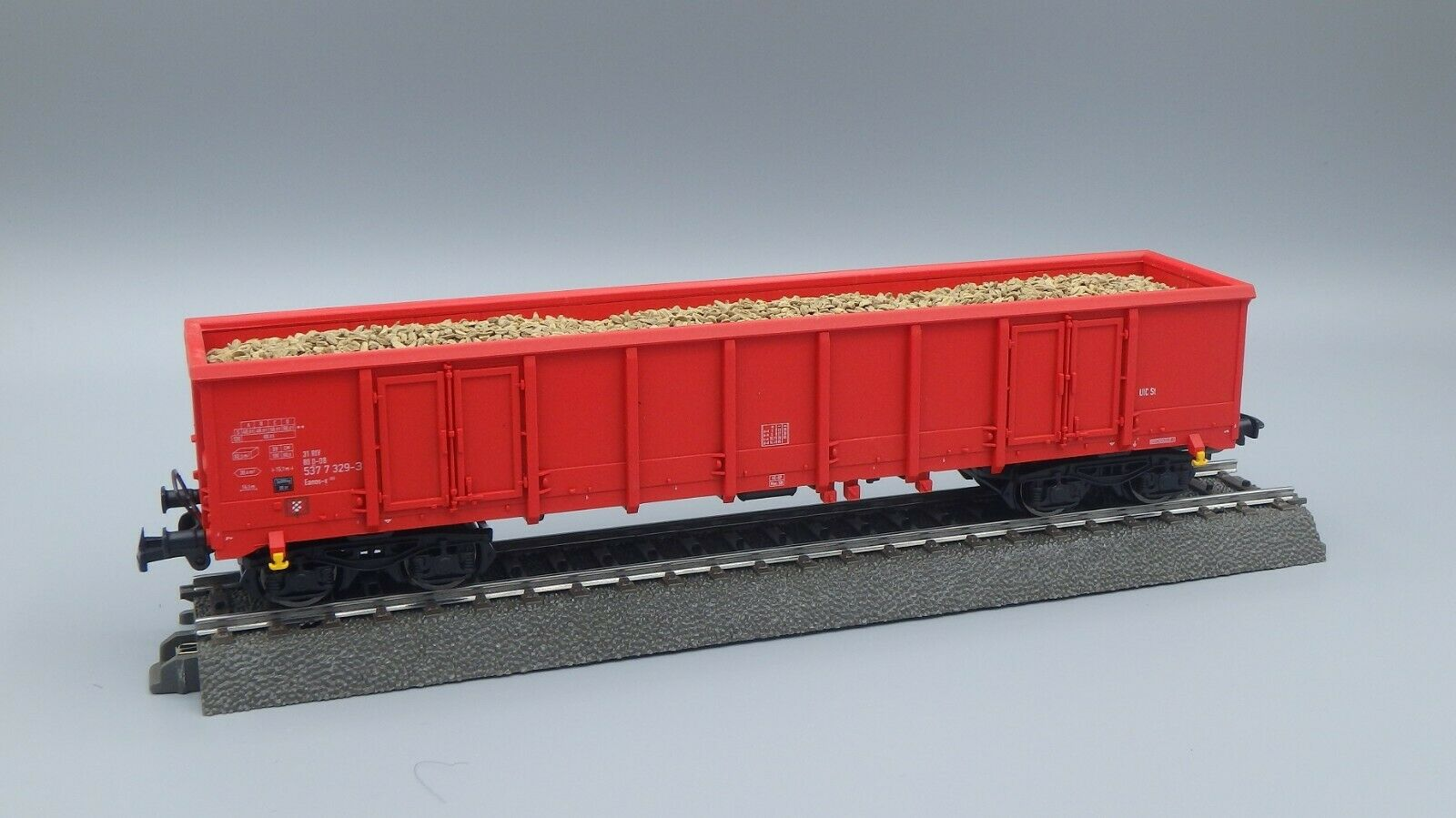 Tillig Bahn 522180- Vagón de Cochega Abierto de DB -aus Pantalla Escala Tt