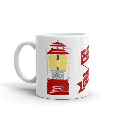 Vintage AGM Lantern Label Logo Coffee Mug