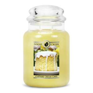 CUSTARD-CREAM-CAKE-LARGE-GOOSE-CREEK-CANDLE-JAR-24-OZ-FREE-SHIPPING