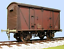 Slaters 7062 O Gauge BR 12t Van Wide Wagon Kit