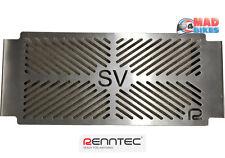 SUZUKI SV650 L7 2016, 17, Renntec Stainless Steel Radiator Grill Cover REN9185