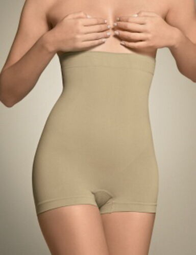 tummy,Bum,Waist Control Body Shaper,Black /& Nude M-XL Ladies High Waist Brief