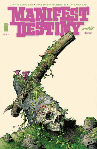 MANIFEST DESTINY #2 Image Comic 1st FIRST Print SOLD OUT Near Mint to NM+