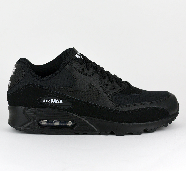 Nike Air Max 90 Essential Men Lifestyle Sneakers New Black White AJ1285-019