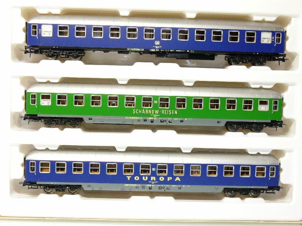 Roco 44137 h0 Cochero tumbona-set scharnow-viajes touropa como nuevo embalaje original