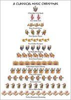 Classical Music Christmas - 12 Days Of Christmas Box Of 15 Christmas Cards