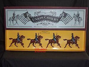 Britains 8854 soldat de jouet monté de cavalerie d'union de guerre civile américaine 50242188547