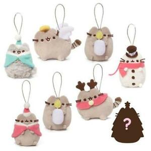 Christmas Pusheen.Gund Pusheen Series 5 Cat With Candle Ornament Holiday Cheer Christmas