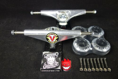 Venture Skateboard Trucks Wings 2 5.8 High Spitfire Bearings Manton 97a Wheels