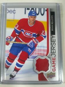 2014-15-Upper-Deck-Series-1-UD-Game-Jersey-Brian-Bellows-Montreal-Canadiens