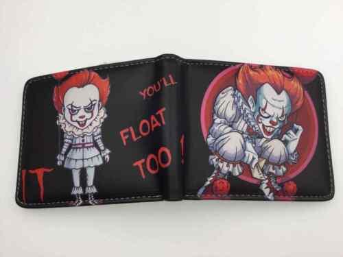 IT Clown Pennywise Haute Qualité Horreur deux volets Portefeuilles Livraison rapide!