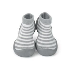 carino economico a piedi scatti di stili freschi Sock Ons Grigio Passo a Gattoni, Crociera Pre-walker Bambino Calze ...