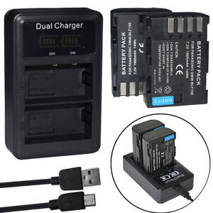 DMW-BLF19E-Battery-or-LCD-charger-For-Panasonic-Lumix-DMC-GH3-DMW-GH4-DMW-GH5