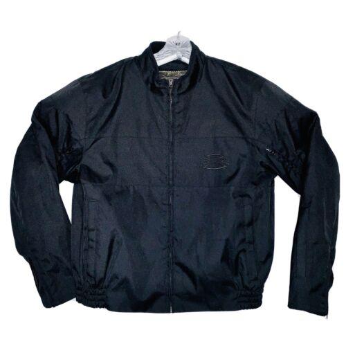 TEKNIC Power Skin Motorcycle Jacket Mens Black Siz