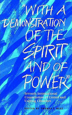 1 of 1 - With A Demonstration Of The Spirit And Of Power: Seventh International-ExLibrary