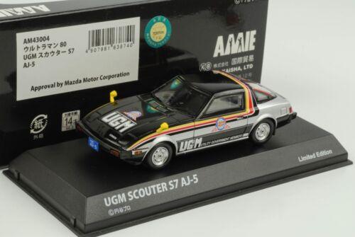 Mazda Savanna RX-7 GT UGM Scouter S7 AJ-5 1980 1:43 Kyosho