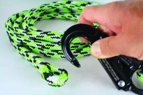 Choose size 12/' ARBORIST Flipline Lanyard,Replacement lanyard /& Dbl snap 20/'.