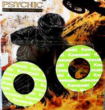 PSYCHIC HANDLEBAR MX  GRIP DONUTS GREEN KAWASAKI KX85 KX125 KX250 KXF250 KXF450
