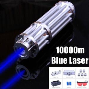 High Power Blue Laser Pointer Burning Light 450nm Beam Pen 5mw 5