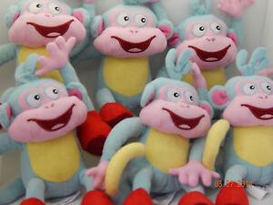 "X 50 Dora The Explorer - Boots The Monkey! Party bag Job Lot PLUSH SOFT TOY! 10"""