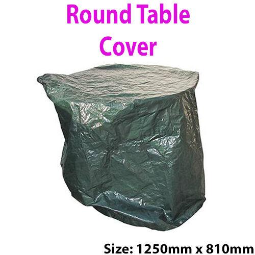 1250 x 810mm Round Table Cover– UV Waterproof 100GSM Sheet –Garden Patio Outdoor
