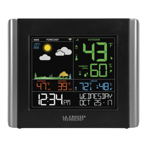 C84343-11 La Crosse View Add-On or Replacement Remote Monitoring Color Display