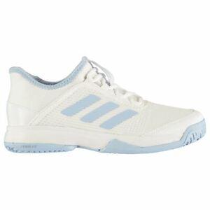 Adidas Adizero Club Girl's Tennis Shoes Turquoise