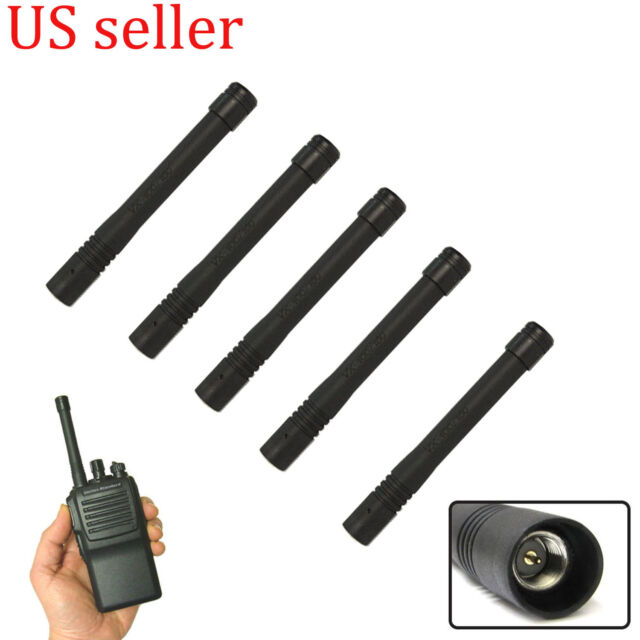 5x UHF Stubby Antenna for Vertex Standard VX210 VX228 VX261 VX264 Portable Radio