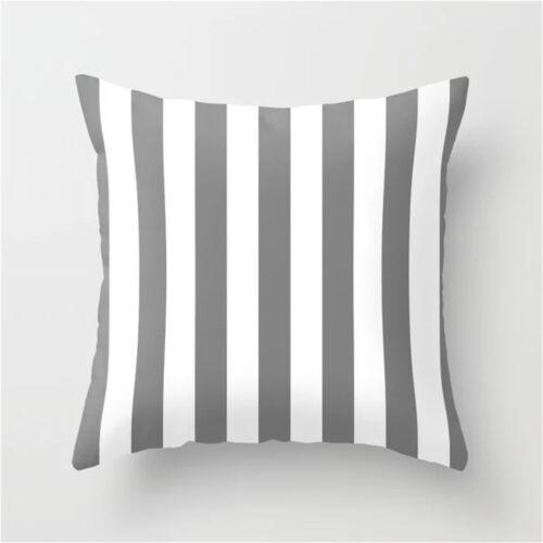 Gray Pillow cover,Geometric Throw Pillow Cases,Lumbar Pillowcases,for Sofa//Car
