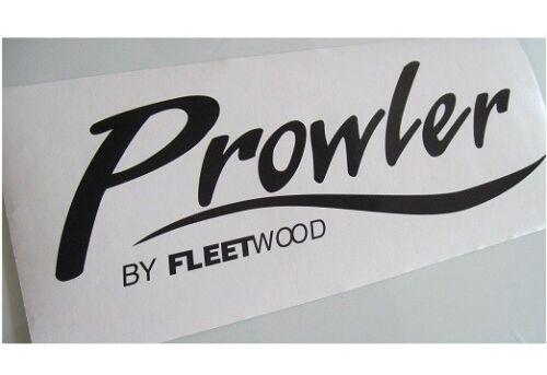 2 PROWLER DECALS STICKERS FLEETWOOD RV CAMPER WHEEL TRAILER TS ORIGINAL LOOK