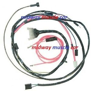 engine wiring harness chevy impala bel air biscayne ss w image is loading engine wiring harness 63 chevy impala bel air