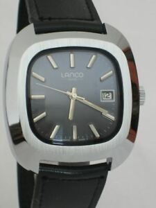 NOS-NEW-VINTAGE-LANCO-MENS-SWISS-MADE-WATCH-1960-039-S