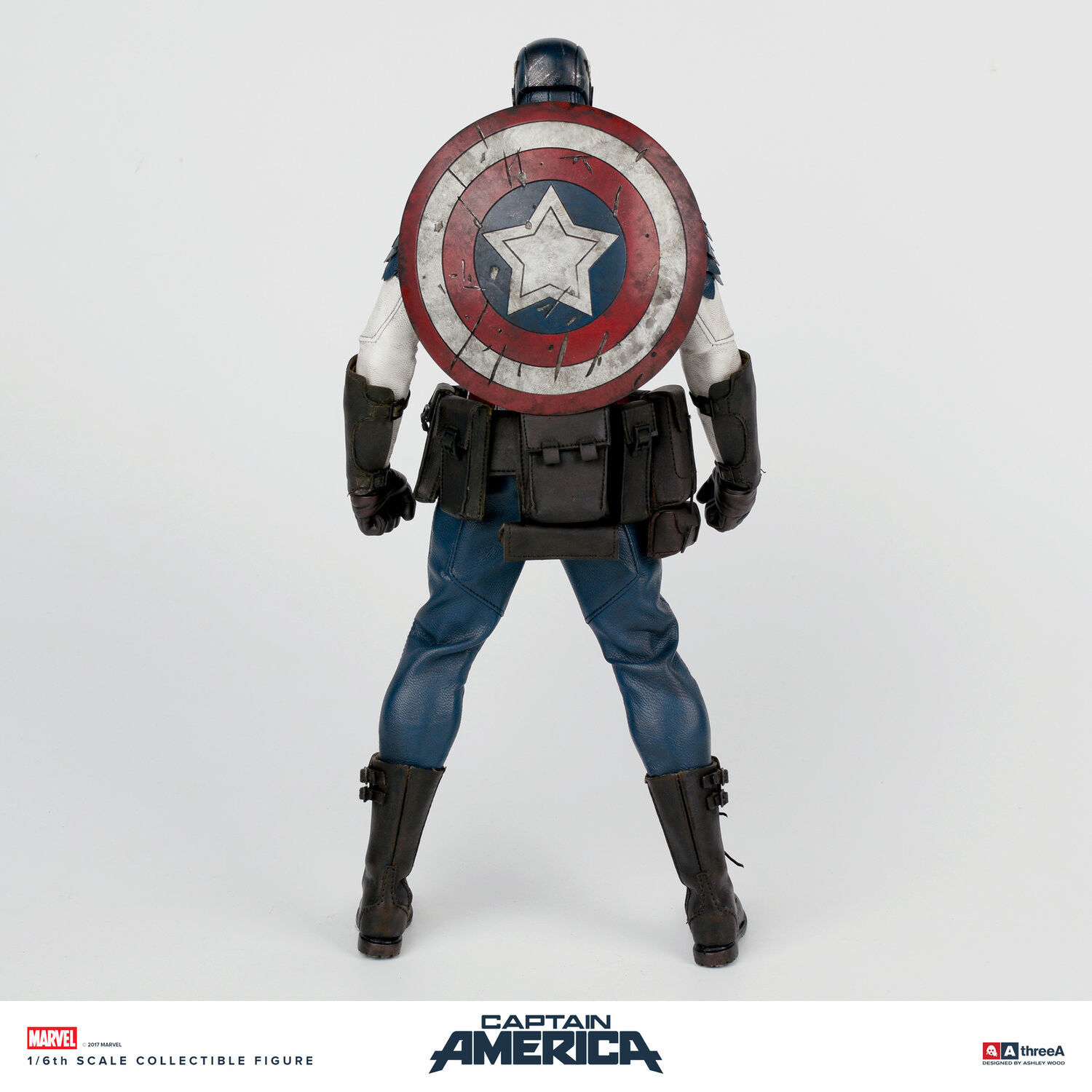 Captain America - Captain America 1/6th Scale Action Action Action Figure a7ecf9