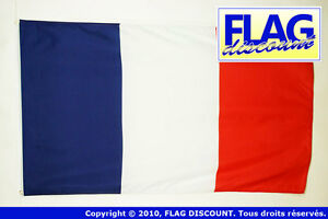DRAPEAU-FRANCE-150x90cm-DRAPEAU-FRANA-AIS-90-x-150-cm-Polyester-leger-Neuf
