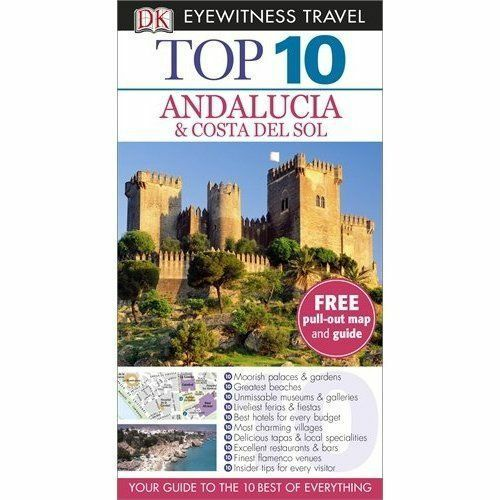 DK, DK Eyewitness Top 10 Travel Guide: Andalucia & Costa Del Sol, Very Good Book