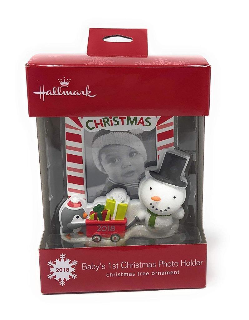 Genesis Bronze Baby S 1st Christmas Photo Frame Hanging Decoration For Sale Online Ebay