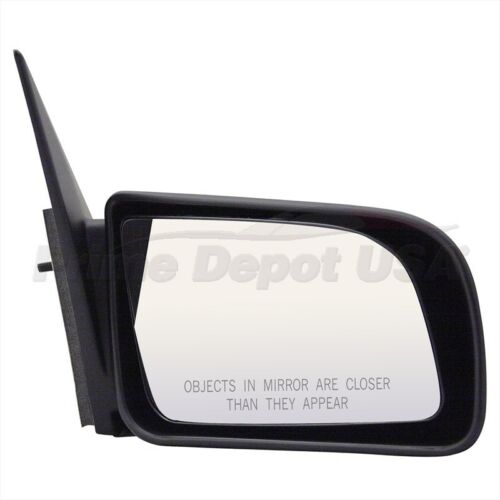 A BRAND NEW #1 HIGH QUALITY MANUAL REMOTE MIRROR~RIGHT HAND SIDE PASSENGER DOOR