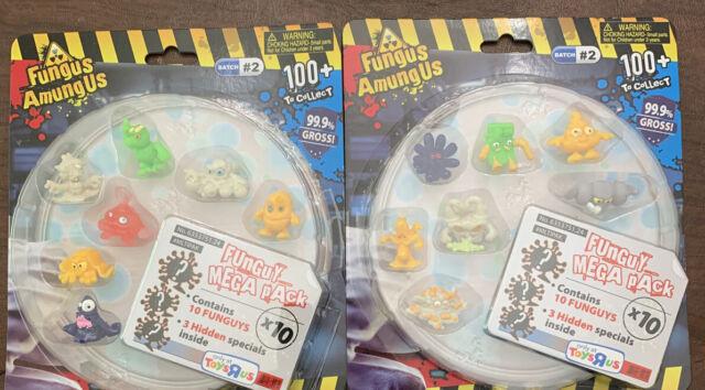 Various FunGuy Vac Pack Batch #2 New Fungus Amungus 4 FunGuys + 1 Hidden
