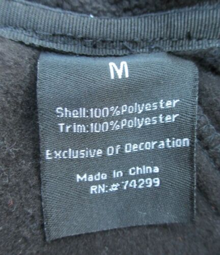 SNOZU Kids Childrens Fleece Jacket Warm Winter Coat Black Grey S M L XL BNWT