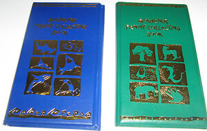 One-Green-One-Blue-Elongated-Penny-Souvenir-Collecting-Book-w-2-FREE-Pennies