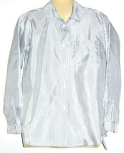 Boys-grey-white-SPEC-OCC-l-s-shirt-sz-14-NEW-bnwt