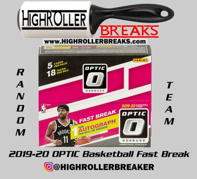2019-20 Panini Optic Fast Break Random Team Box Break #12 *Read*